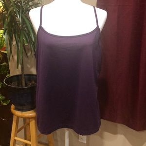 Lane Bryant Purple Camisole Size 14/16